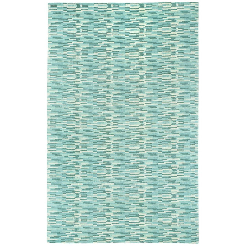 Portofino Blue Grey Hand Knotted Rug Rectangle image