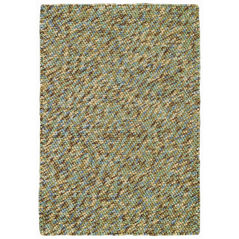 Pebbles Seaglass Hand Knotted Rug Rectangle image