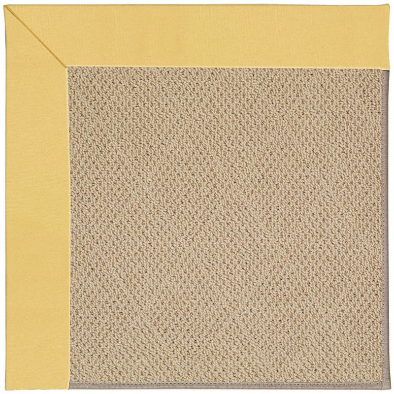 Creative Concepts-Cane Wicker Canvas Canary Machine Tufted Rug Rectangle image