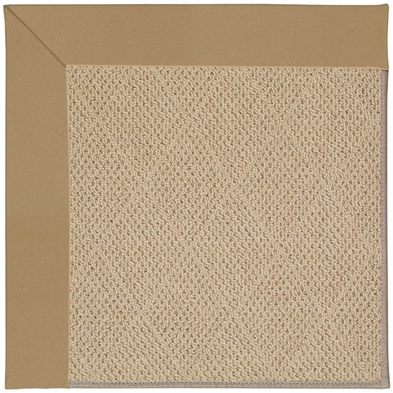 Creative Concepts-Cane Wicker Canvas Linen Machine Tufted Rug Rectangle image