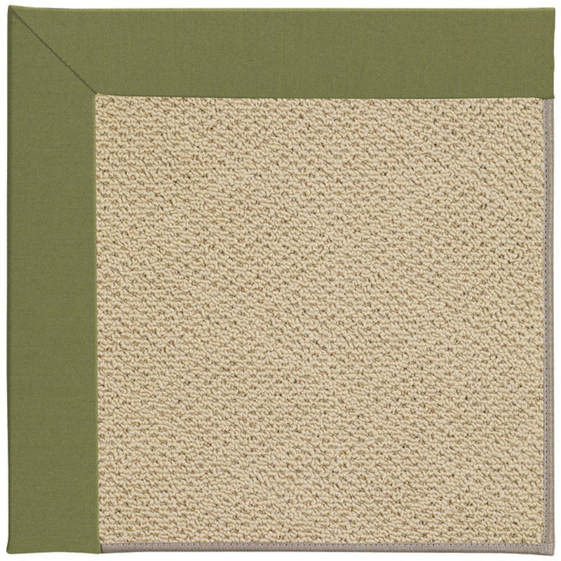 Creative Concepts-Cane Wicker Spectrum Cilantro Machine Tufted Rug Rectangle image