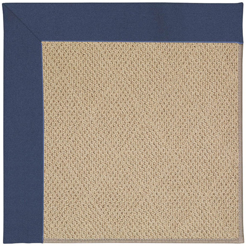Creative Concepts-Cane Wicker Canvas Neptune Machine Tufted Rug Rectangle image