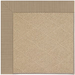 Creative Concepts-Cane Wicker Dupione Sand Machine Tufted Rug Rectangle image