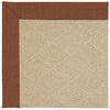 Creative Concepts-Cane Wicker Linen Chili Machine Tufted Rug Rectangle image