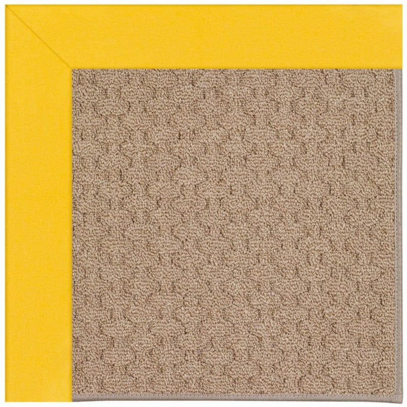 Creative Concepts-Grassy Mtn. Canvas Sunflower Yellow Machine Tufted Rug Rectangle image
