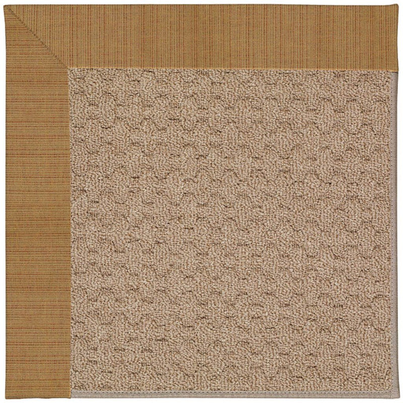Creative Concepts-Grassy Mtn. Dupione Caramel Machine Tufted Rug Rectangle image