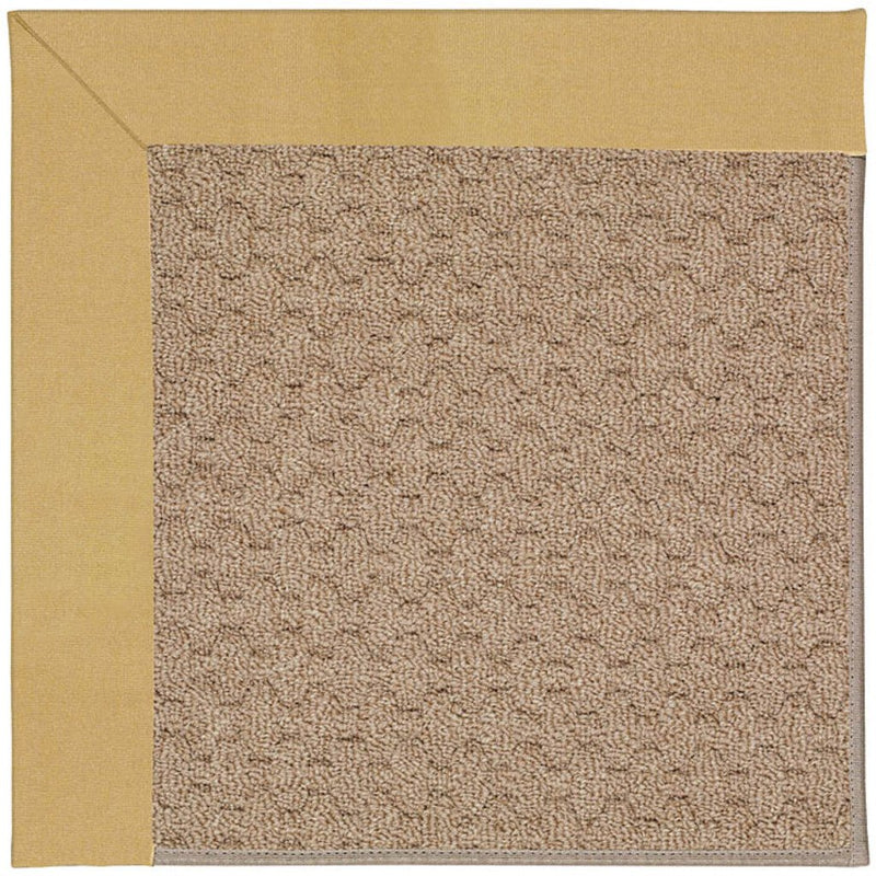 Creative Concepts-Grassy Mtn. Canvas Wheat Machine Tufted Rug Rectangle image