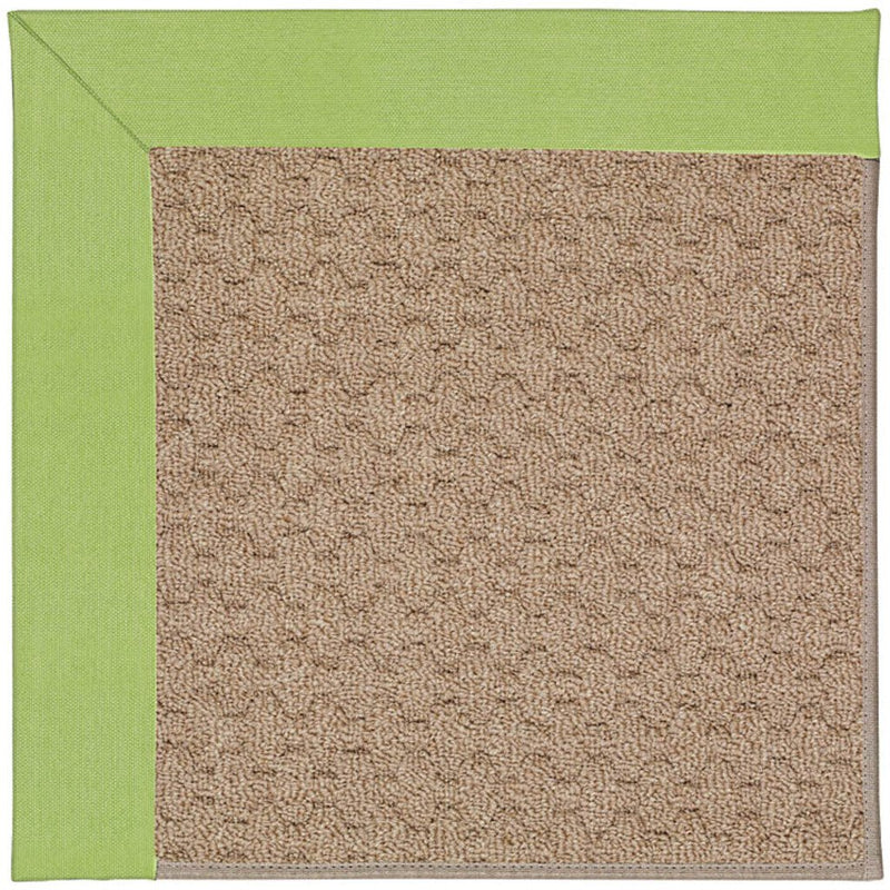Creative Concepts-Grassy Mtn. Canvas Parrot Machine Tufted Rug Rectangle image