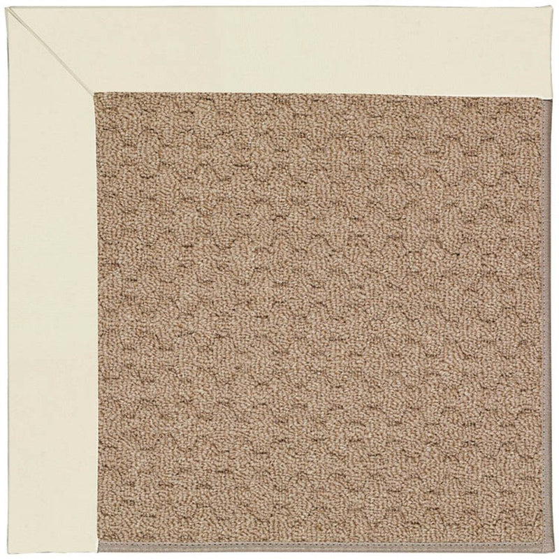 Creative Concepts-Grassy Mtn. Canvas Ivory Machine Tufted Rug Rectangle image