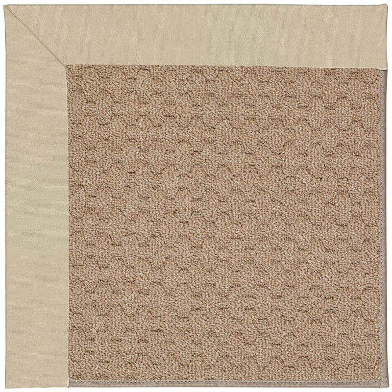 Creative Concepts-Grassy Mtn. Canvas Antique Beige Machine Tufted Rug Rectangle image