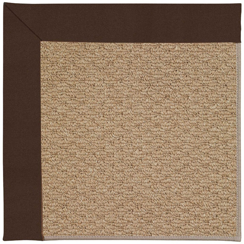 Creative Concepts-Raffia Canvas Bay Brown Machine Tufted Rug Rectangle image