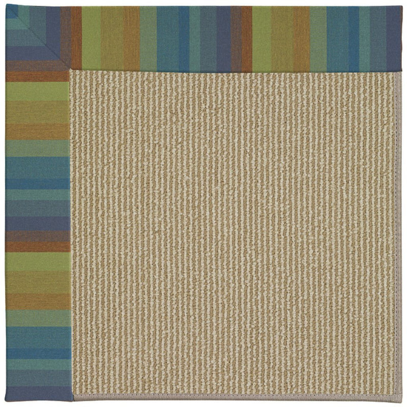 Creative Concepts-Sisal Astoria Lagoon Machine Tufted Rug Rectangle image