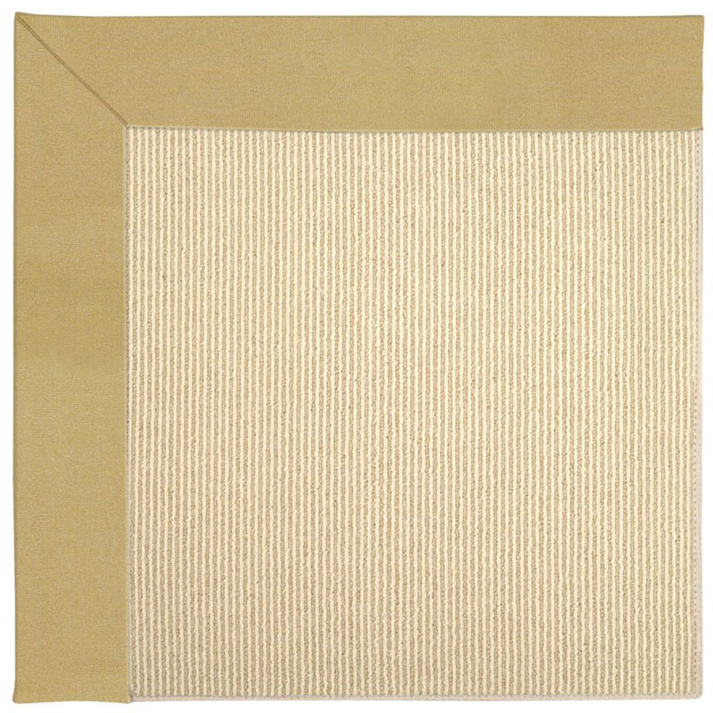 Creative Concepts-Beach Sisal Canvas Wheat Machine Tufted Rug Rectangle image