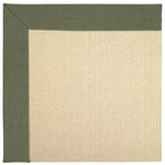 Creative Concepts-Beach Sisal Canvas Fern Machine Tufted Rug Rectangle image
