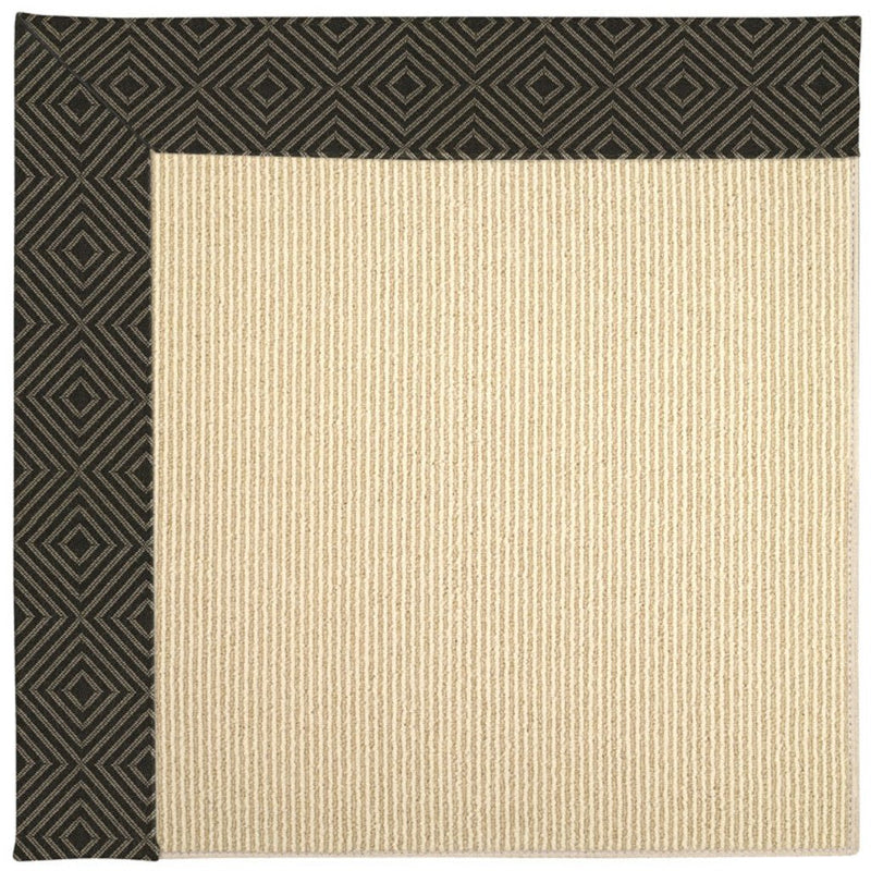 Creative Concepts-Beach Sisal Fortune Lava Machine Tufted Rug Rectangle image