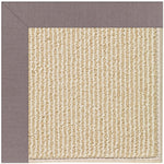 Creative Concepts-Beach Sisal Canvas Dusk Machine Tufted Rug Rectangle image