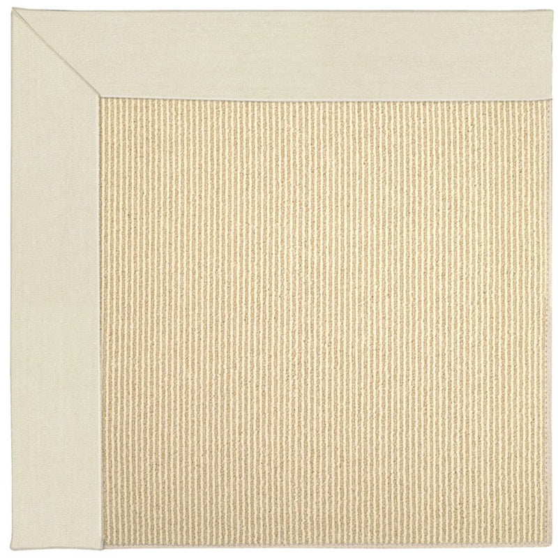 Creative Concepts-Beach Sisal Canvas Sand Machine Tufted Rug Rectangle image