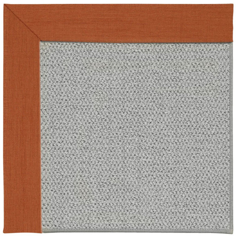 Inspire-Silver Rave Tangerine Machine Tufted Rug Rectangle image