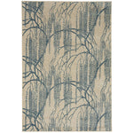 Willow Azul Machine Woven Rug Rectangle image