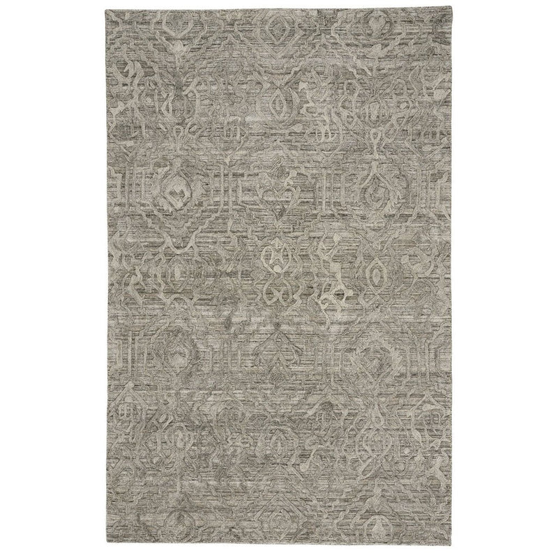 Cambria Fog Hand Loomed Area Rug Rectangle image