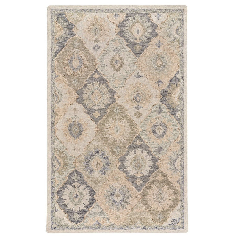 Avanti-Panel Greystone Hand Tufted Rug Rectangle image