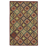Avanti-Quilt Multi Panel Hand Tufted Rug Rectangle image