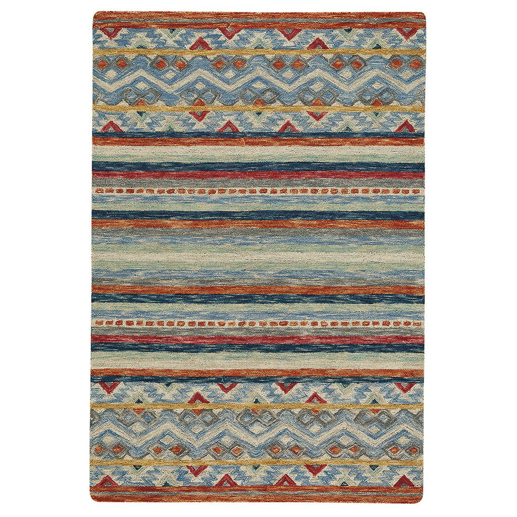 Avanti-Kelim Multi Hand Tufted Rug Rectangle image