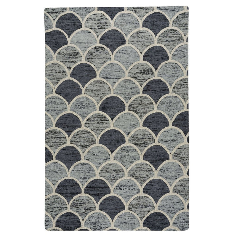 Brass Belly Storm Hand Tufted Rug Rectangle image