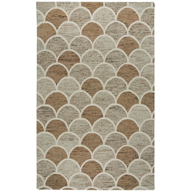Brass Belly Stone Hand Tufted Rug Rectangle image