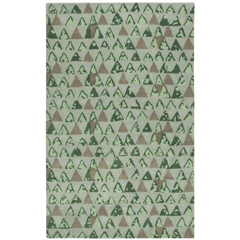 Panache-Pyramid Sand Hand Tufted Rug Rectangle image