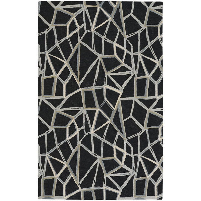 Shattered Onyx Hand Tufted Rug Rectangle image
