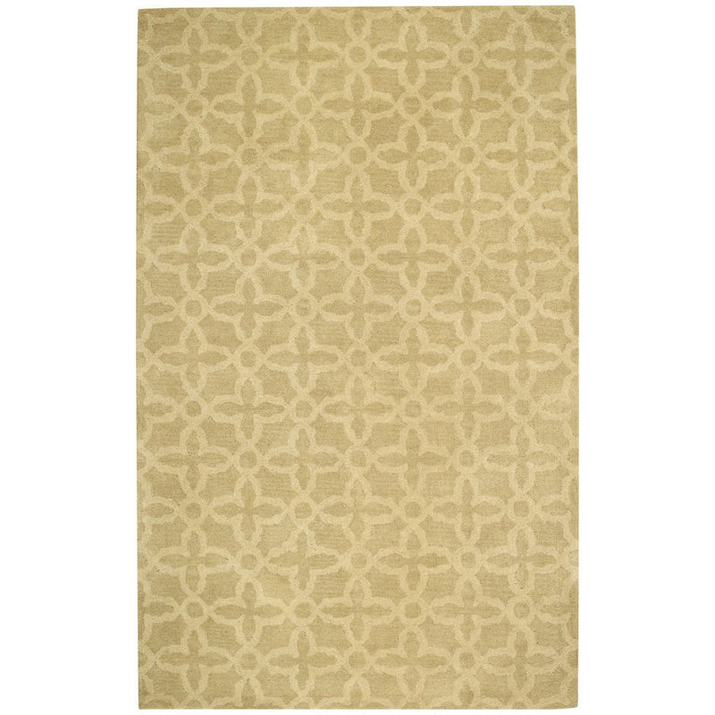Arrondelle-Baroque Parchment Hand Tufted Rug Rectangle image