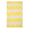 Wild Chev Leo Sun Flat Woven Rug Rectangle image
