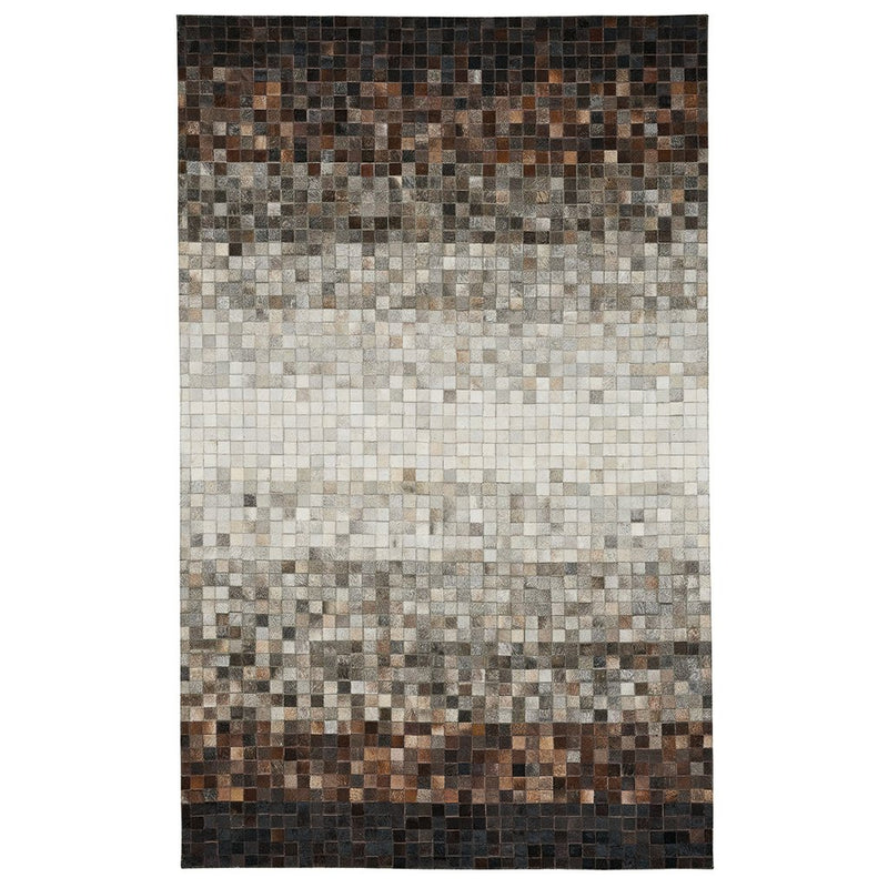 Laramie-Cubes Natural Flat Woven Rug Rectangle image