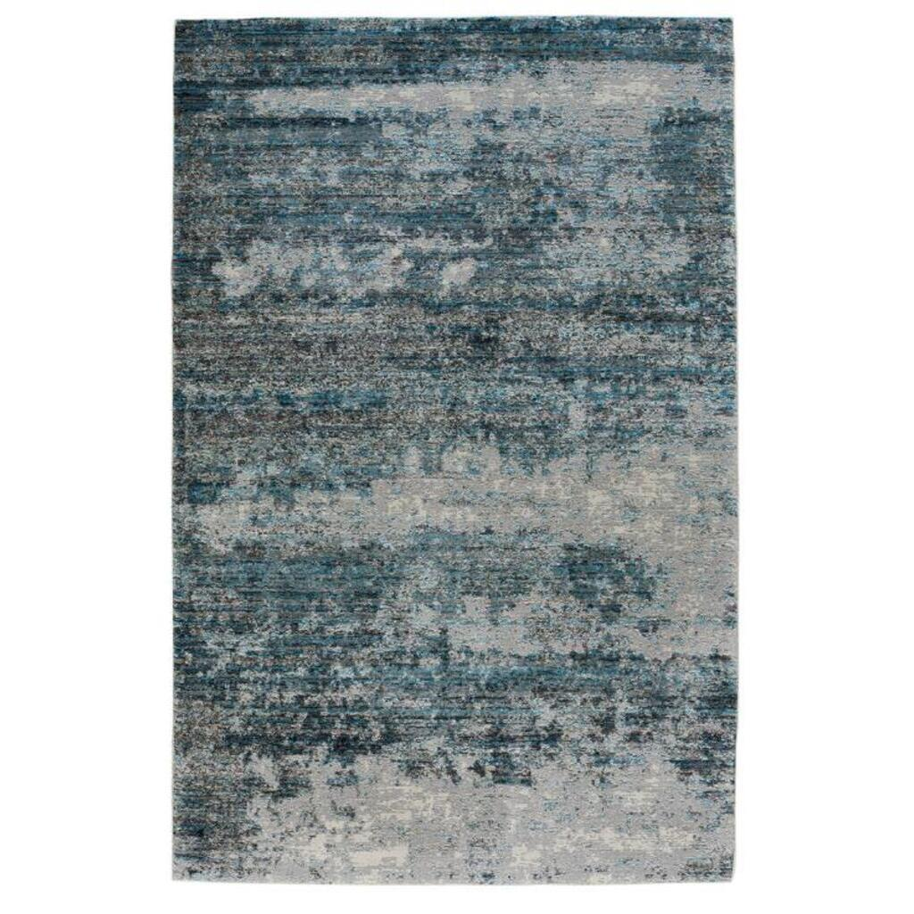 Fuego-Drake Blue Slate Machine Woven Rug Rectangle image