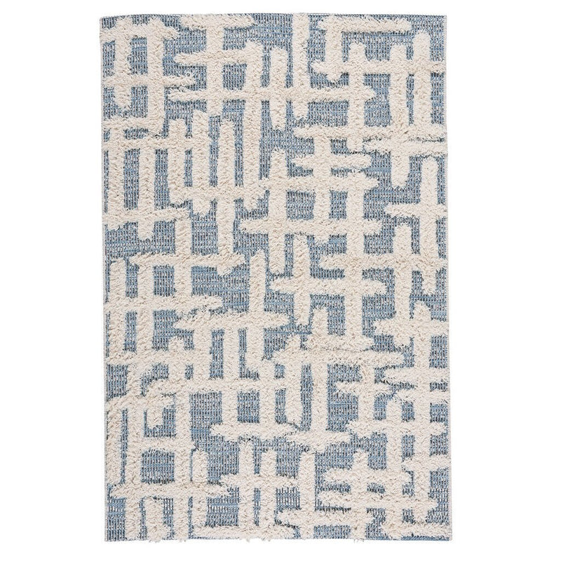 Raza Denim Machine Woven Rug Rectangle image