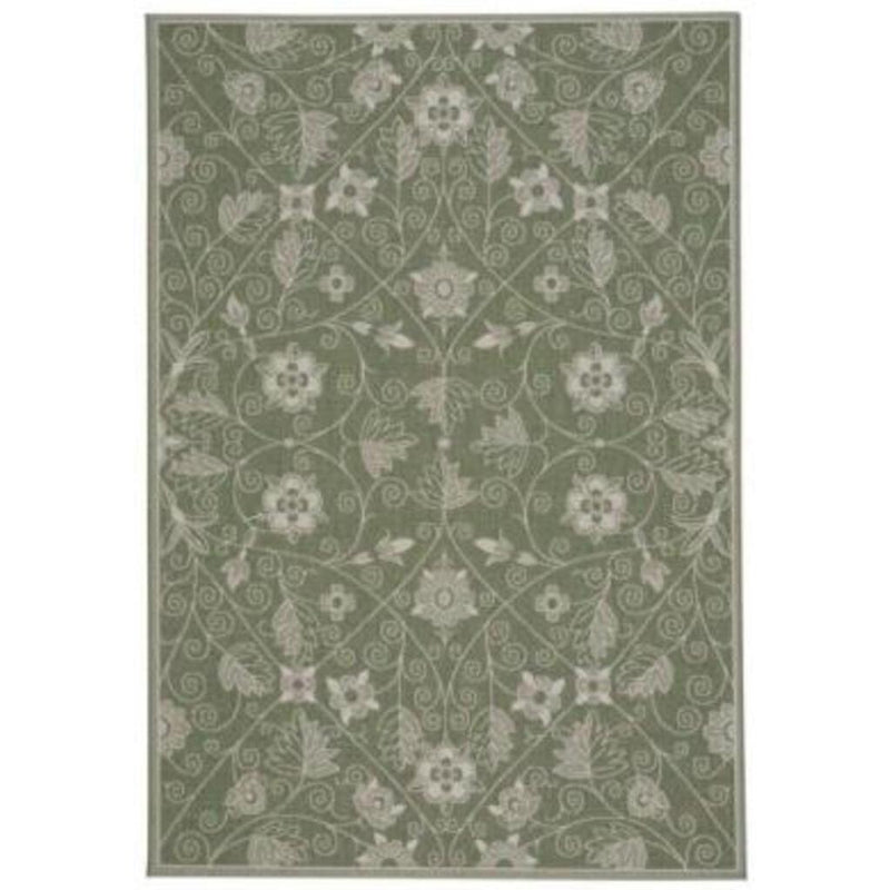 Finesse-Garden Maze Sage Machine Woven Rug Rectangle image