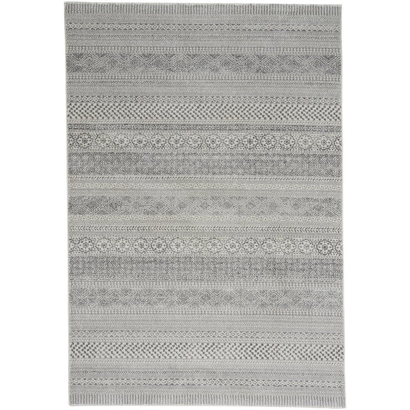 Quarry Silver Machine Woven Rug Rectangle image