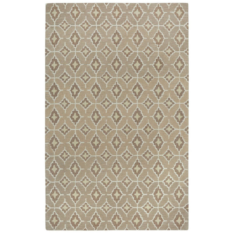 Lisbon Tan Butter Hand Tufted Rug Rectangle image
