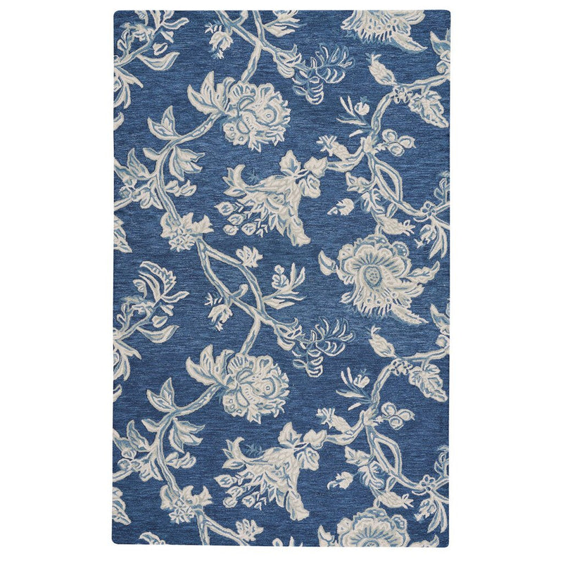 Arcadia Indigo Hand Tufted Rug Rectangle image