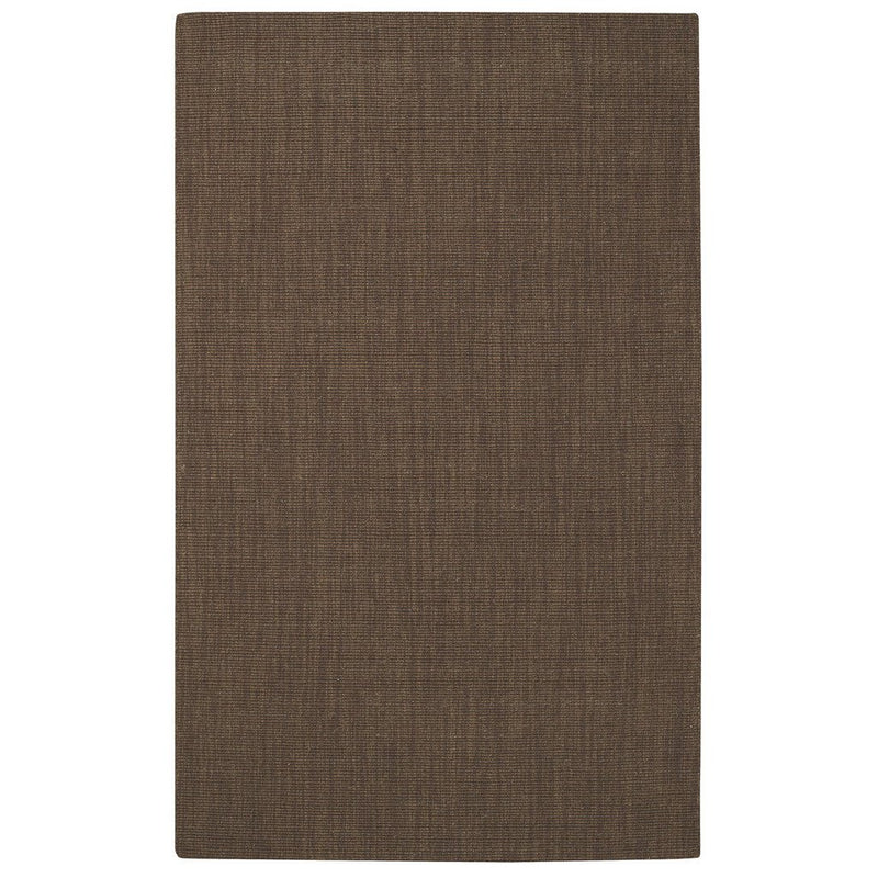 Montauk Chocolate Hand Loomed Area Rug Rectangle image