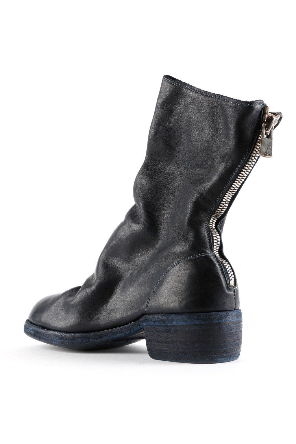 Boots - Back Zip Mid-calf Boots