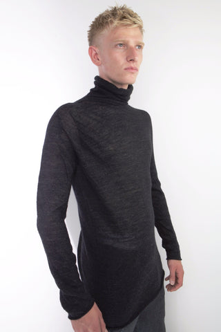 high neck seamless neck