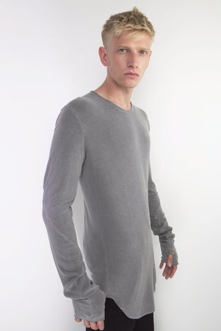 crew neck, anatomic sweater