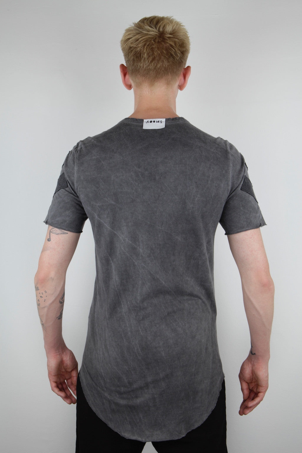 patched t shirt