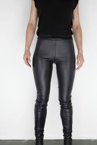 leather trouser