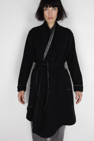 raw cut coat