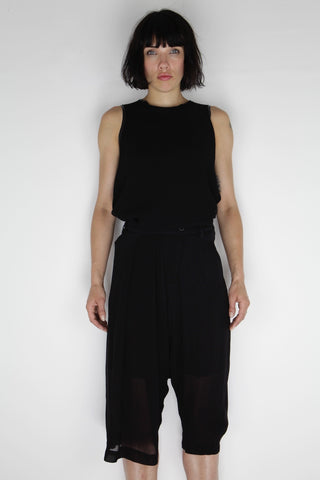pleated skirt pant