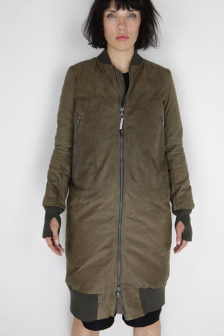 kaki dilettante jacket