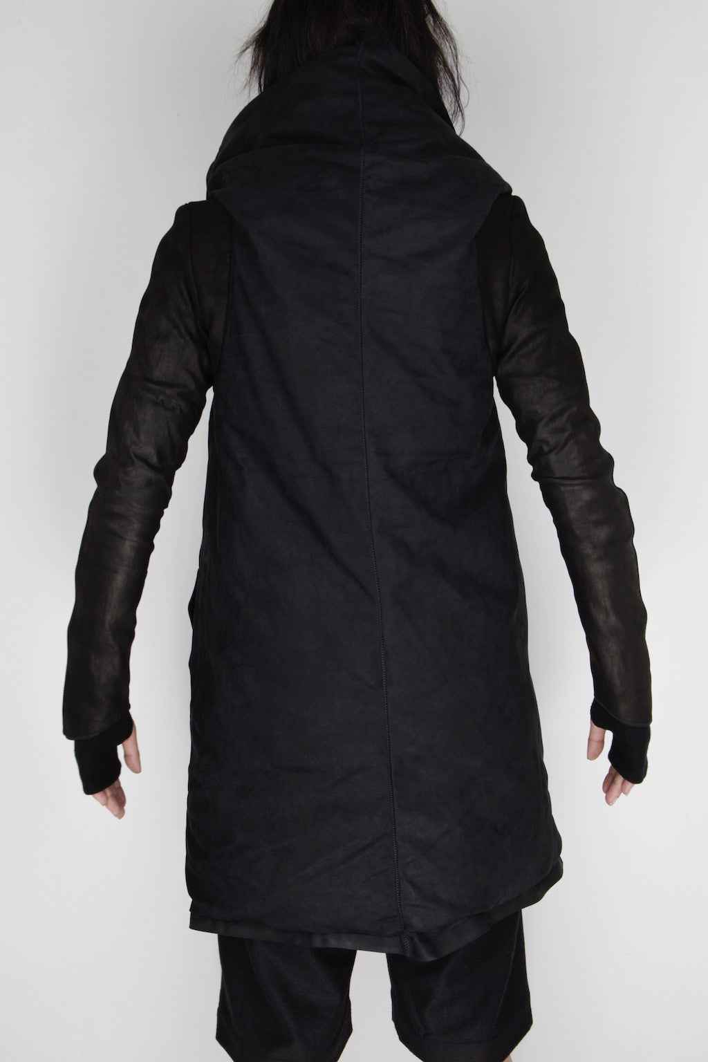 black quadri jacket